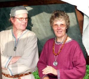 Ewe & Kicki på medeltidsmarknad