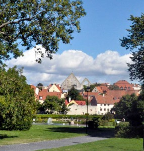 Visby, Almedalen