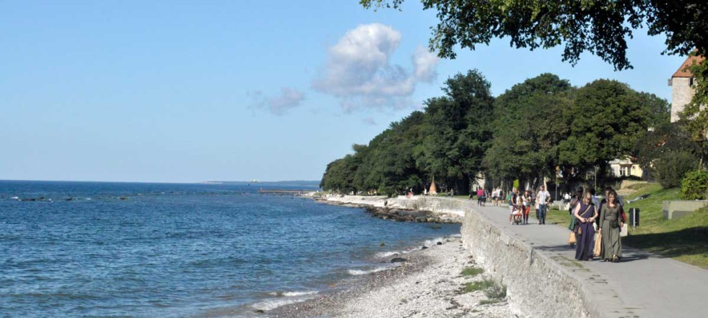 Visby strandpromenad
